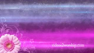 Mother's Day Pink Worship Background