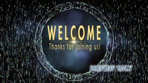 Abstract Welcome Motion Video