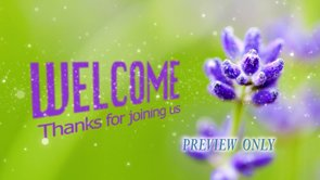 Church Welcome For Summer
