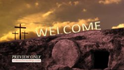 Easter Welcome Motion Background