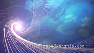 Abstract Animated Sun Rays Loop