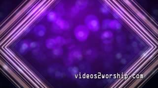 Bokeh Worship Motion Video Loop