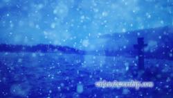 FREE Winter Cross Worship Background | Videos2Worship