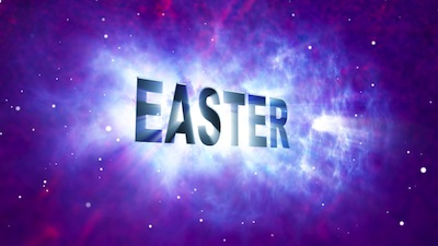 Easter: Seamless Title Motion Loop