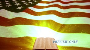 Bible And American Flag Patriotic Motion