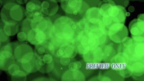 Green Bokeh Motion Video Loop