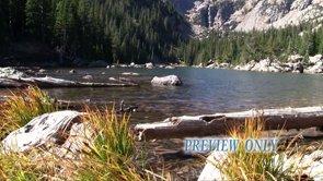 Mountain Lake In The Rokies Motion
