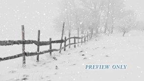 Winter Snow Worship Background