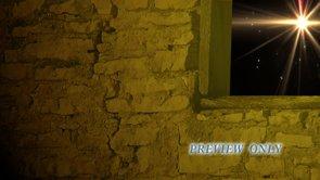 Nativity Loop: Manger Wall And Window