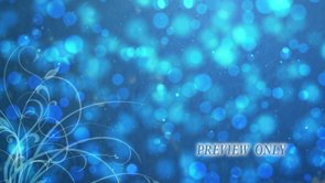 Abstract Blue Motion Worship Loop