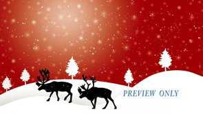 FREE Reindeer Winter Holidays Motion Loop