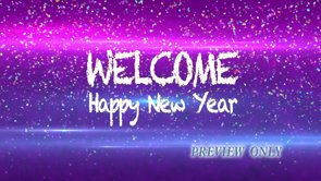 Welcome: Happy New Year Motion