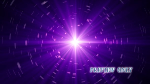 Expanding Space Motion Background