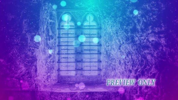 Castle Window Animated Worship