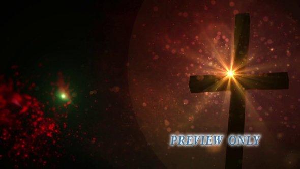 HD Cross Loop For Easter Season