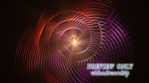Abstract Curved Lines Background Loop