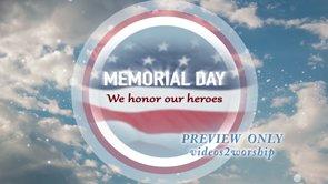 Memorial Day Patriotic Title Motion
