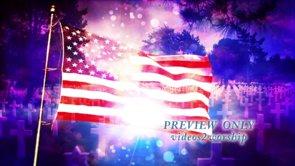 Memorial Day: Motion Background