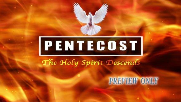 Pentecost Title Background Video