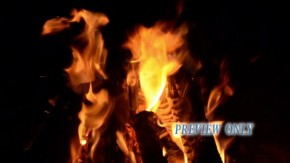 Camp Fire Seamless Motion Video