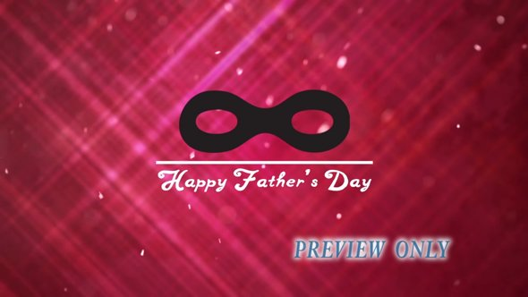 Father's Day Mask Background Motion