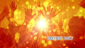 Worshiping Together With Raised Hands
