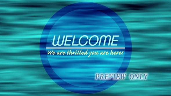 Thrilled You're Here: Welcome Loop