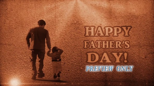 Happy Father's Day Title Video