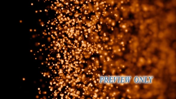 Fire Autumn Particles Background
