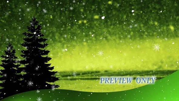 Christmas Season Worship Background