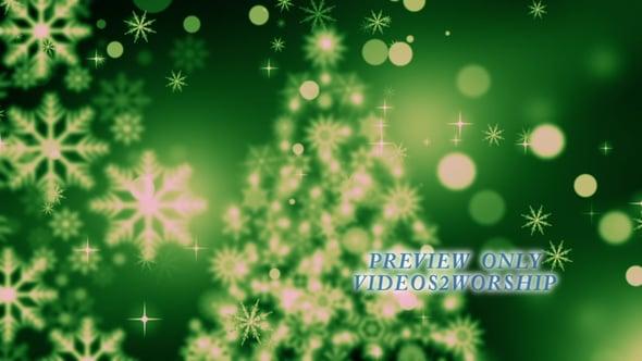 Christmas Tree Holidays Worship Motion