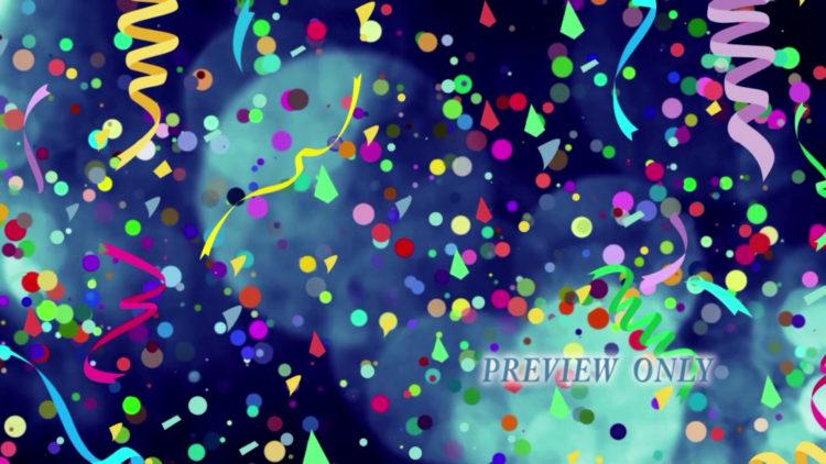 confetti motion background | Videos2Worship