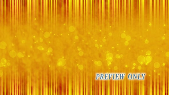 Golden Lines And Particles Video