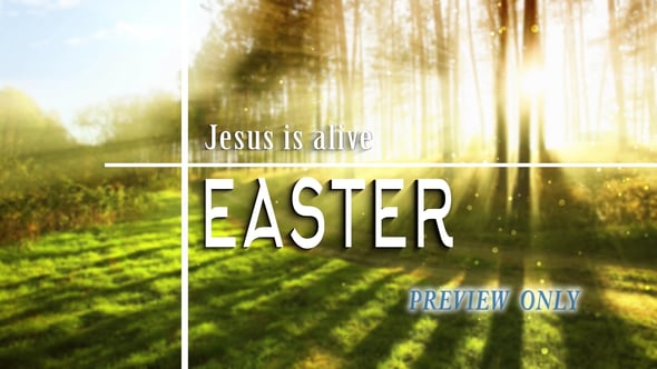 Easter Title Video: He Is Alive