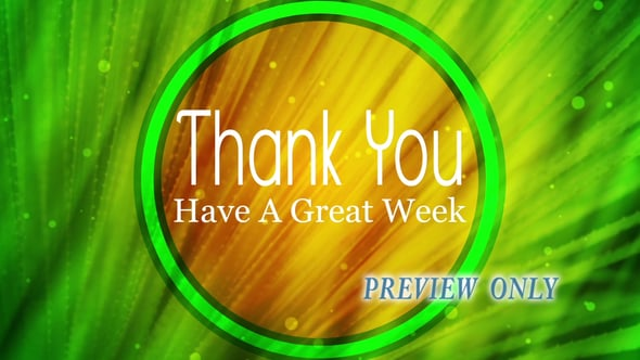 Palm Sunday Title: Thank You