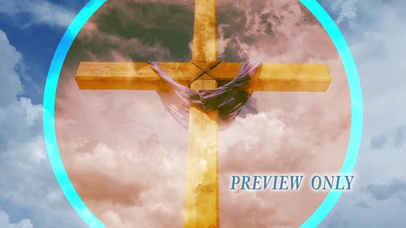 Easter Cross Motion Worship Video