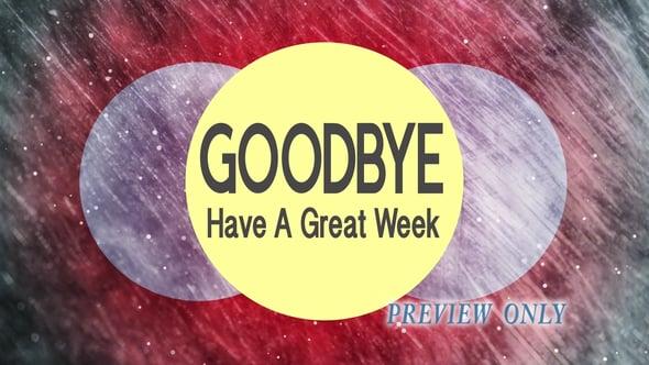 Goodbye: Three Grunge Circles