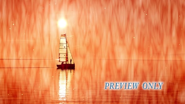 Sailing Boat: Reflections Motion