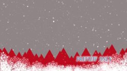 Christmas Holidays Snow Background
