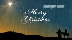 Bethlehem In Sight: Merry Christmas