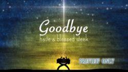 Christmas Advent Goodbye Motion