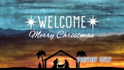 Christmas Nativity Welcome Title