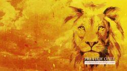 Jesus The Lion Worship Background