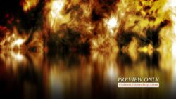 Abstract Pentecost Fire Reflections