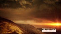 Free Sunset Worship Background | Videos2Worship