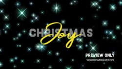 Christmas Joy Church Motion Graphic