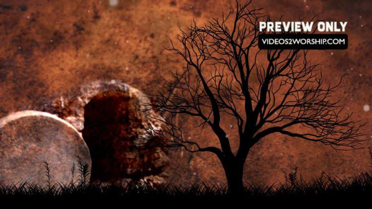 resurrection background image | Videos2Worship